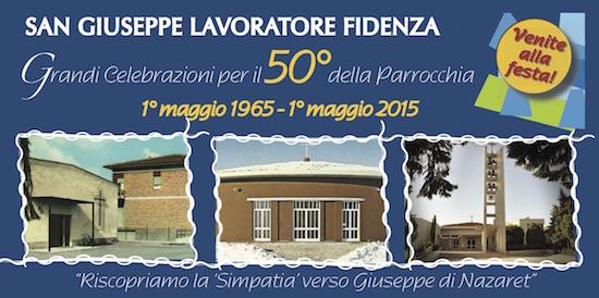 Celebrazioni per il 50° della Parrocchia 1965-2015